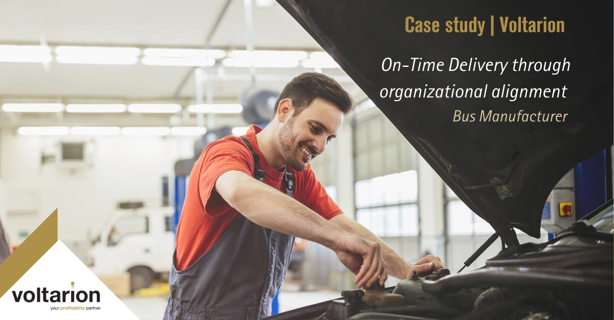 On-Time Delivery through organizational alignment