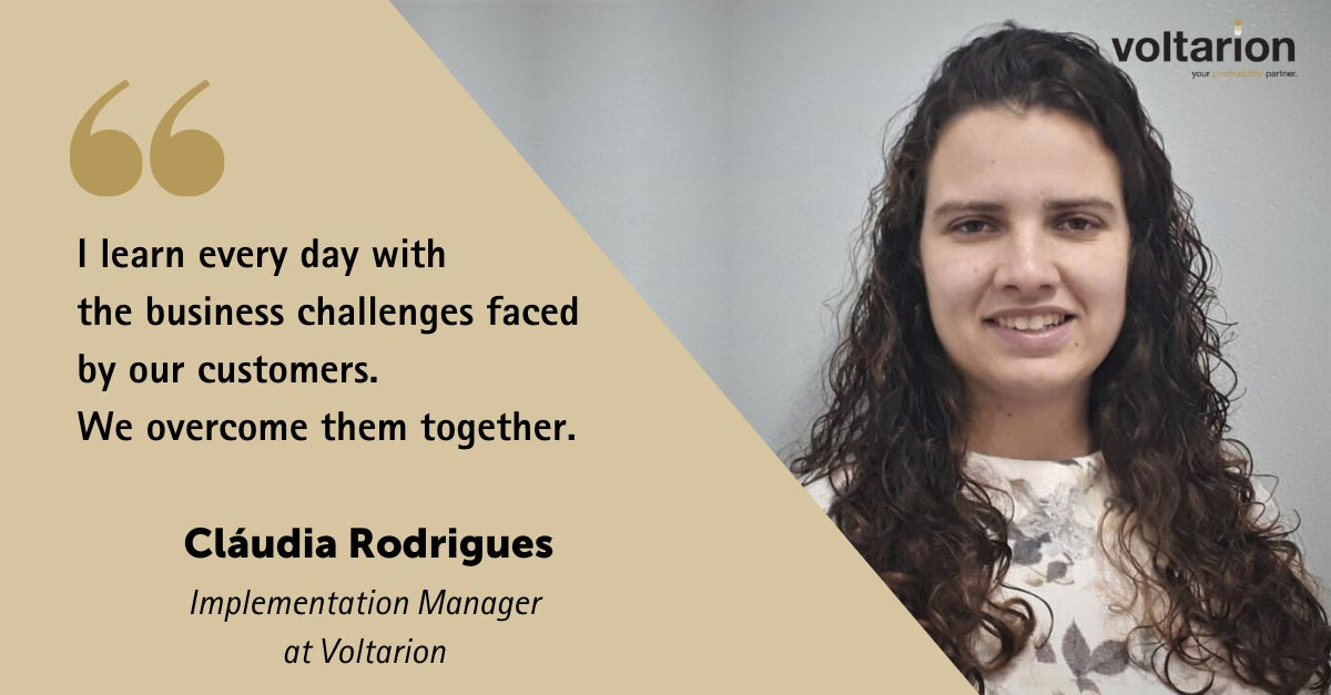 I learn every day with the business challenges faced by our customers. We overcome them together.