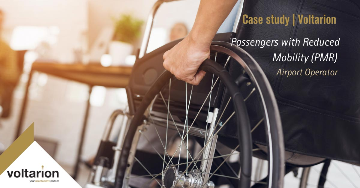 Passengers with Reduce Mobility (PRM) – a Case Study