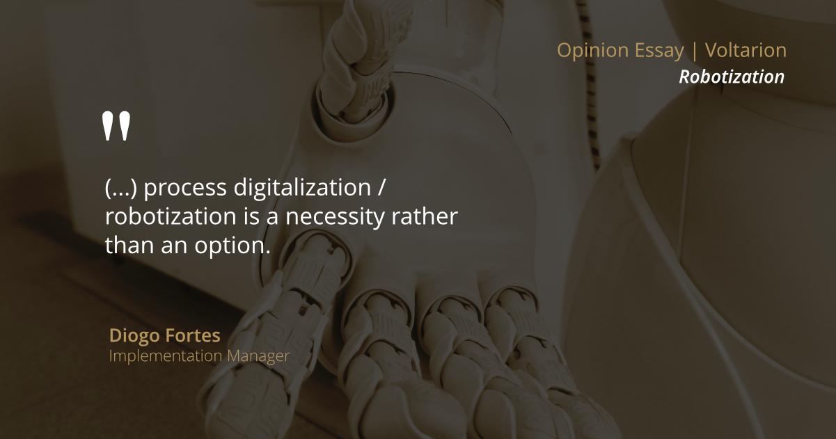 The Digitalisation/'Botisation' of Companies