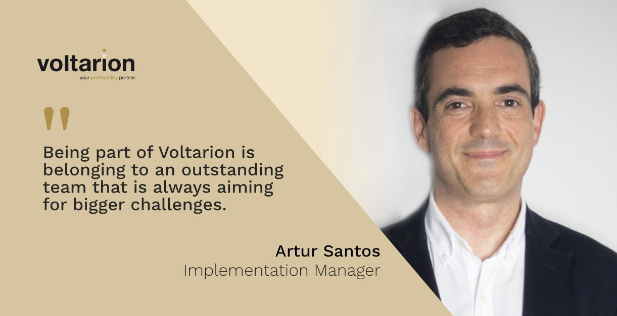 Being part of Voltarion is belonging to an outstanding team that is always aiming for bigger challenges