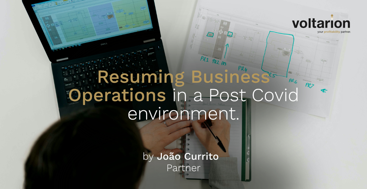 Resuming Business Operations in a Post Covid environment