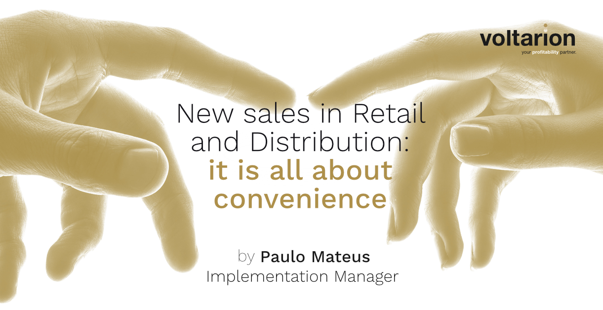New Sales in Retail and Distribution: