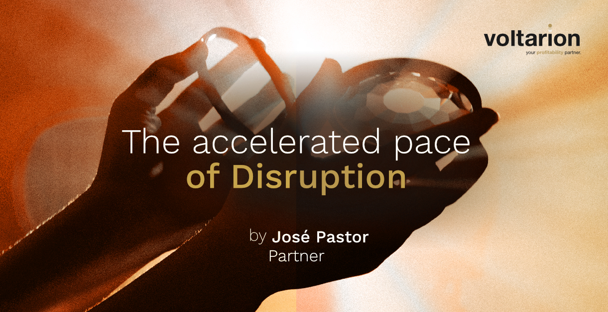 The accelerated pace of Disruption